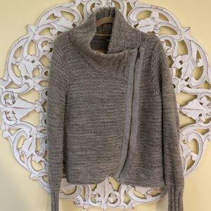 Athleta Asymmetrical Zip sweater.